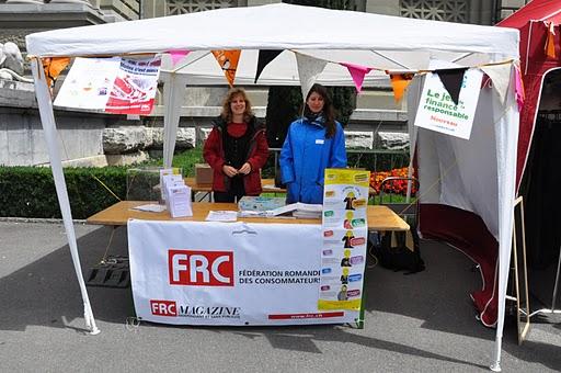 Stand FRC au Festival de la Terre