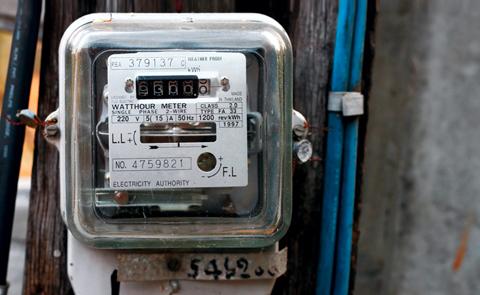 compteur d'électricité