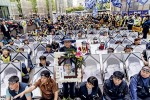 Les proches des ouvriers Samsung morts d'un cancer descendent dans la rue. La marque, plus durable que les autres, a encore bien du chemin à faire. Photo ICRT
