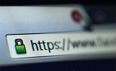 Le cadenas n'est pas une garantie en soi: «googlisez» l'entreprise avant d'acheter. Shutterstock / TACstock1