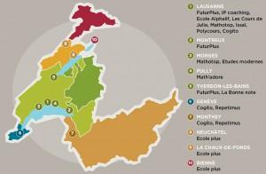 L'offre des écoles privées proposant un soutien scolaire a explosé. Ces structures se concentrent sur la région lausannoise. -- Source: ?