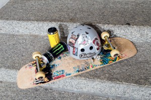 Monster a investit des sports non conventionnels: le skate board comme le moto cross - Jean-Luc Barmaverain