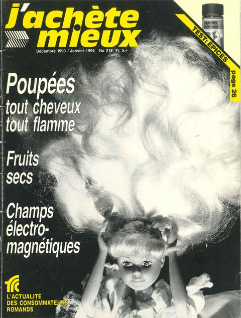 Décembre 1993 – janvier 1994, n°218