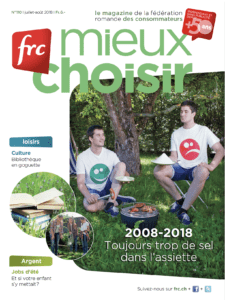 Edito - Juillet/Août 2018