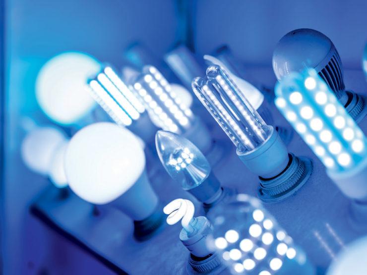 La lumière bleue des LED, nocive pour les yeux dans certains cas.